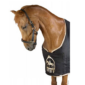 Additional chest bib for rugs