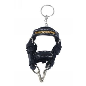 Mini bridle key ring