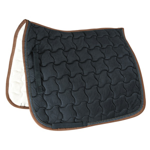 Saddle pad with double cord piping