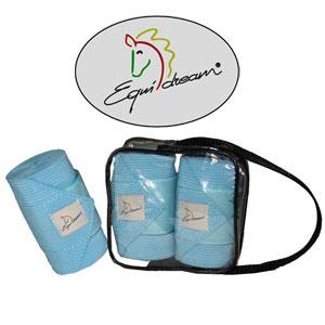 2 Stück Elastische Bandagen EQUIDREAM®, 10cm/2m bordeaux