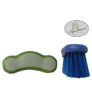 Fellglanzbürste mit ERGO-Softgriff