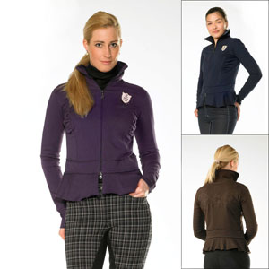 Sweatshirt Jacket - Fantasia Ladies - Purple