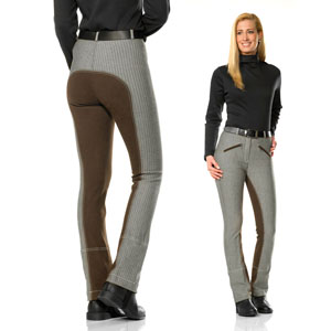 Striped Full Seat Jodhpurs Kim