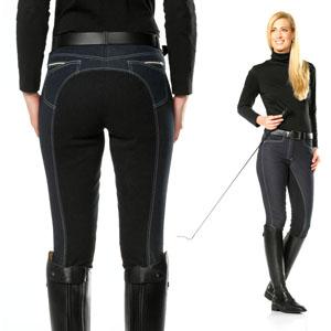 Vollbesatzhose, Jeans