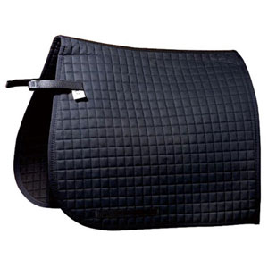 Saddle pad, dressage Luxus with extra long velcro