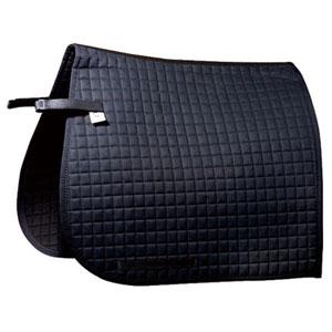 Saddle pad, dressage Luxus with extra long velcro