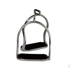 Icelandic stainless steel safety stirrup