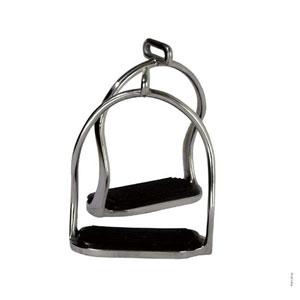Icelandic stainless steel safety stirrup
