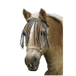 Browband fly screen with velcro