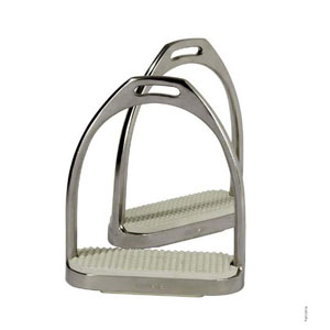 FILLIS stirrup, chrome with treads