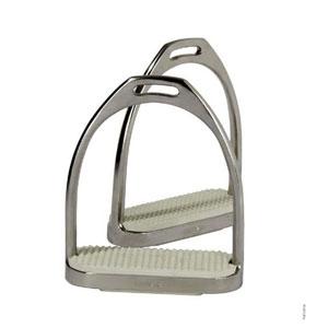 FILLIS stirrup, chrome with treads