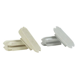 Inclined stirrup treads