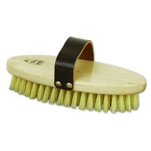 Body brush, nylon bristles