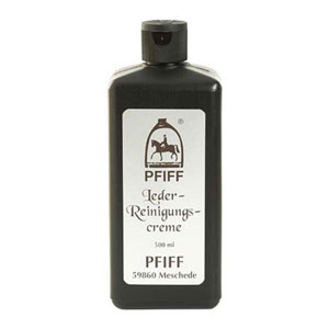 Leather cleaning creme