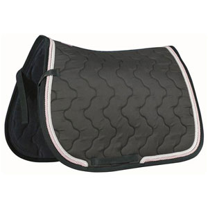 VS saddle pad with fly viel