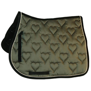 Saddle cloth - heart - VS